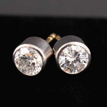 Victorian Diamond Stud Earrings